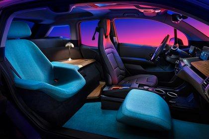 El BMW i3 Urban Suite es casi como viajar en tu propia casa. (BMW)
