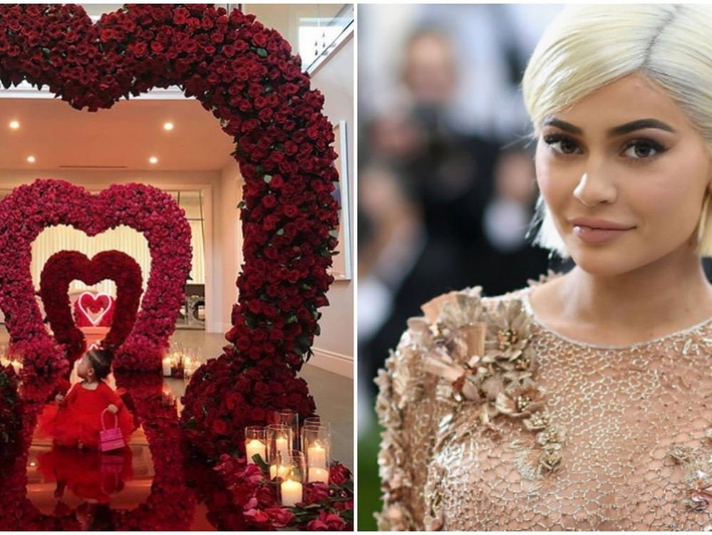d740b1e0a882 La sorpresa que le hicieron a Kylie Jenner en San Valentín - Infobae