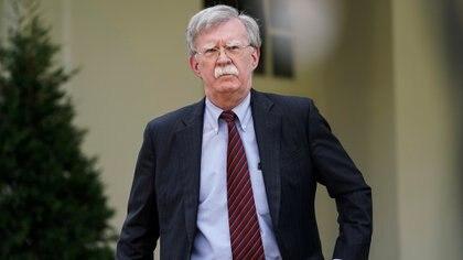 John Bolton,asesor de Seguridad Nacional de la Casa Blanca (REUTERS/Joshua Roberts)