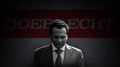 El ex director de Pemex, Emilio Lozoya, enfrenta su primera audiencia por el caso Odebrecht (Foto arte: Jovani Pérez Silva/ Infobae)
