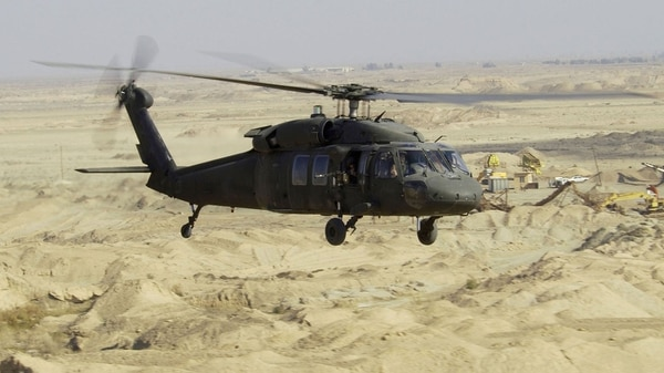 Un Sikorksy UH-60 Black Hawk