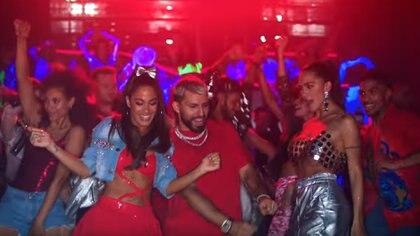 """""""22"""", el nuevo video de Tini Stoessel junto a Sergio """"El Kun"""" Agüero"""