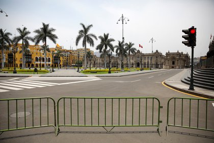 Calles cerradas al tránsito por las restricciones de circulacón (Reuters)