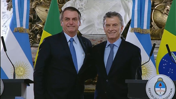 Bolsonaro había expresado varias veces su apoyo a Macri