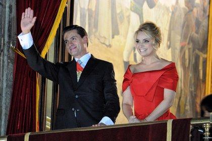 Angélica Rivera gastaba mucho en los vestidos usados en el grito de Independencia (Foto: Cuartoscuro)