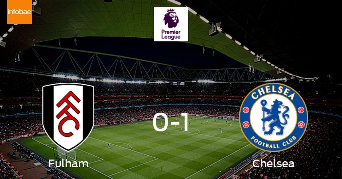 Chelsea gana a Fulham por 1-0 - Infobae