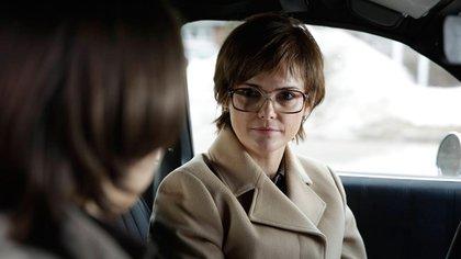 Elizabeth Jennings (Keri Russell), caracterizada para una operación (The Americans)