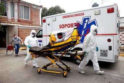 México atraviesa su peor momento de la pandemia de COVID-19, sobre todo en la capital y centro del país (Foto: Carlos Jasso/ Reuters)