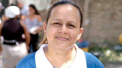 Mayerlis Angarita, defensora de derechos humanos en Montes de María (Colombia), fundadora y directora de la Red de Mujeres Narrar para vivir.