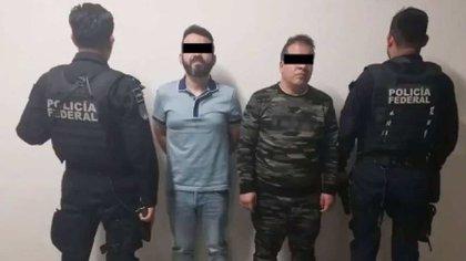 Cuando Roberto Moyado Esparza, El Betito, fue detenido en Tlalpan el 9 de agosto del 2018, vestía tenis Louis Vuitton, cinturón Fendi, camisa Hugo Boss (Foto: ARchivo)