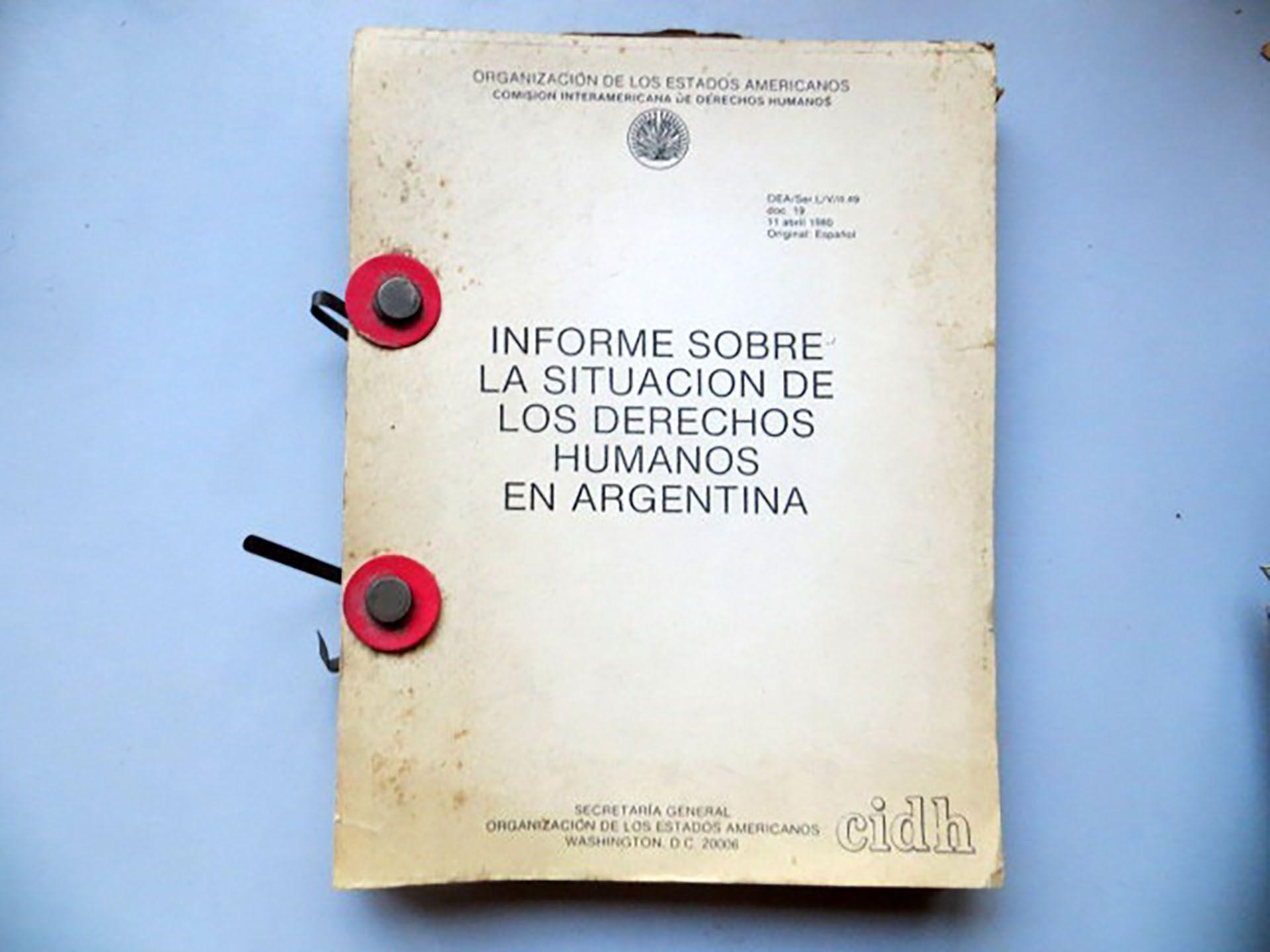 El informe de la CIDH