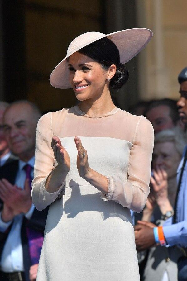 Sobria y refinada, Meghan Markle se adapta al estilo de la corona británica