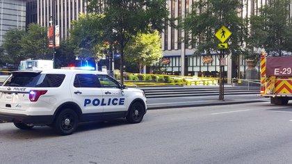 El martes sucedió un tiroteo durante un funeral en Chicago, el cual dejó como saldo al menos 14 heridos. (Foto: Twitter@CINCYPD)