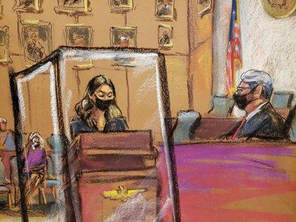 Camila declaró por primera vez todo lo que sufrió en la secta sexual de Keith Raniere (Foto: REUTERS/Jane Rosenberg)