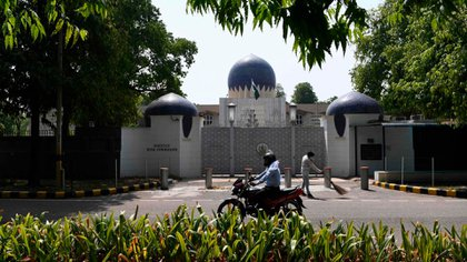 La Alta Comisión de Pakistán en Nueva Delhi, India (AFP)