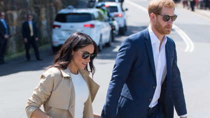 Harry y Meghan Markle se mudaron a Beverly Hills hace tres meses (REUTERS)