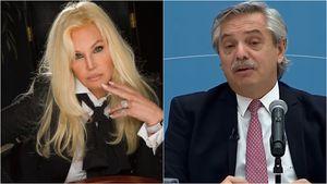 Susana Giménez publicó un audio con una imitación de Alberto Fernández y después lo borró: qué dijo el Presidente cuando se enteró