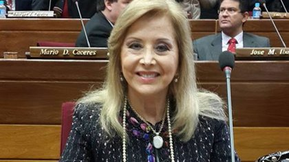 Mirta Gusinky, la ahora ex senadora que se vacunó antes de tiempo