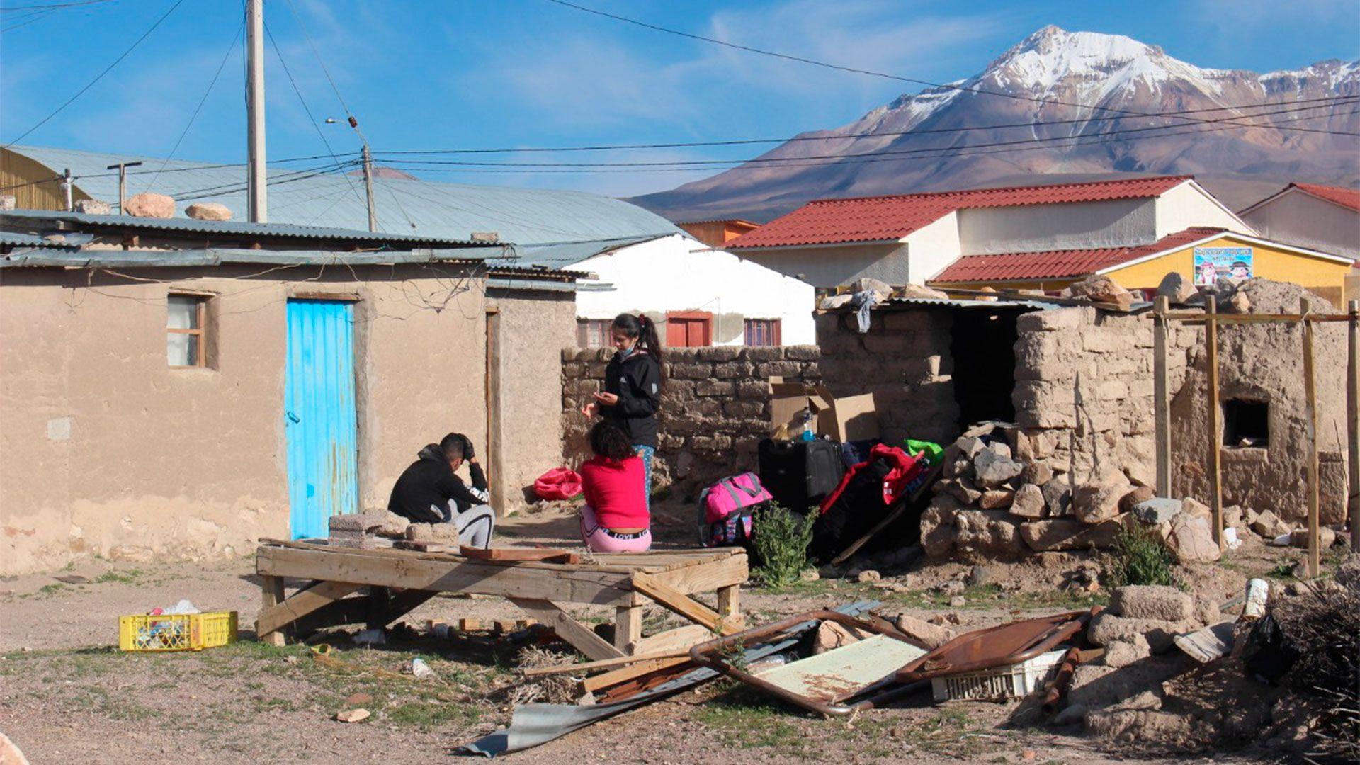 Grave crisis humanitaria en el norte de Chile