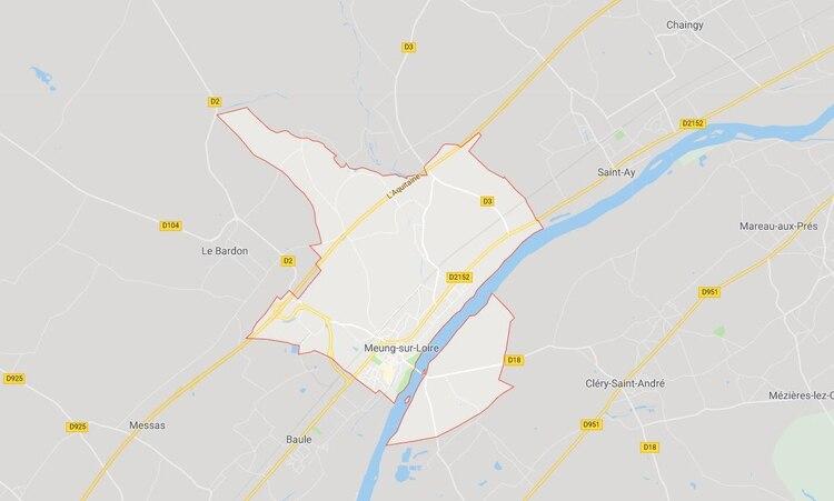 Durante una noche de febrero de 2013 conoció a una mujer local, con quien tuvo un encuentro sexual a pesar de estar casado. Horas después, la víctima fue hallada muerta en su habitación de hotel en Meung-sur-Loire. (Foto: Google Maps)