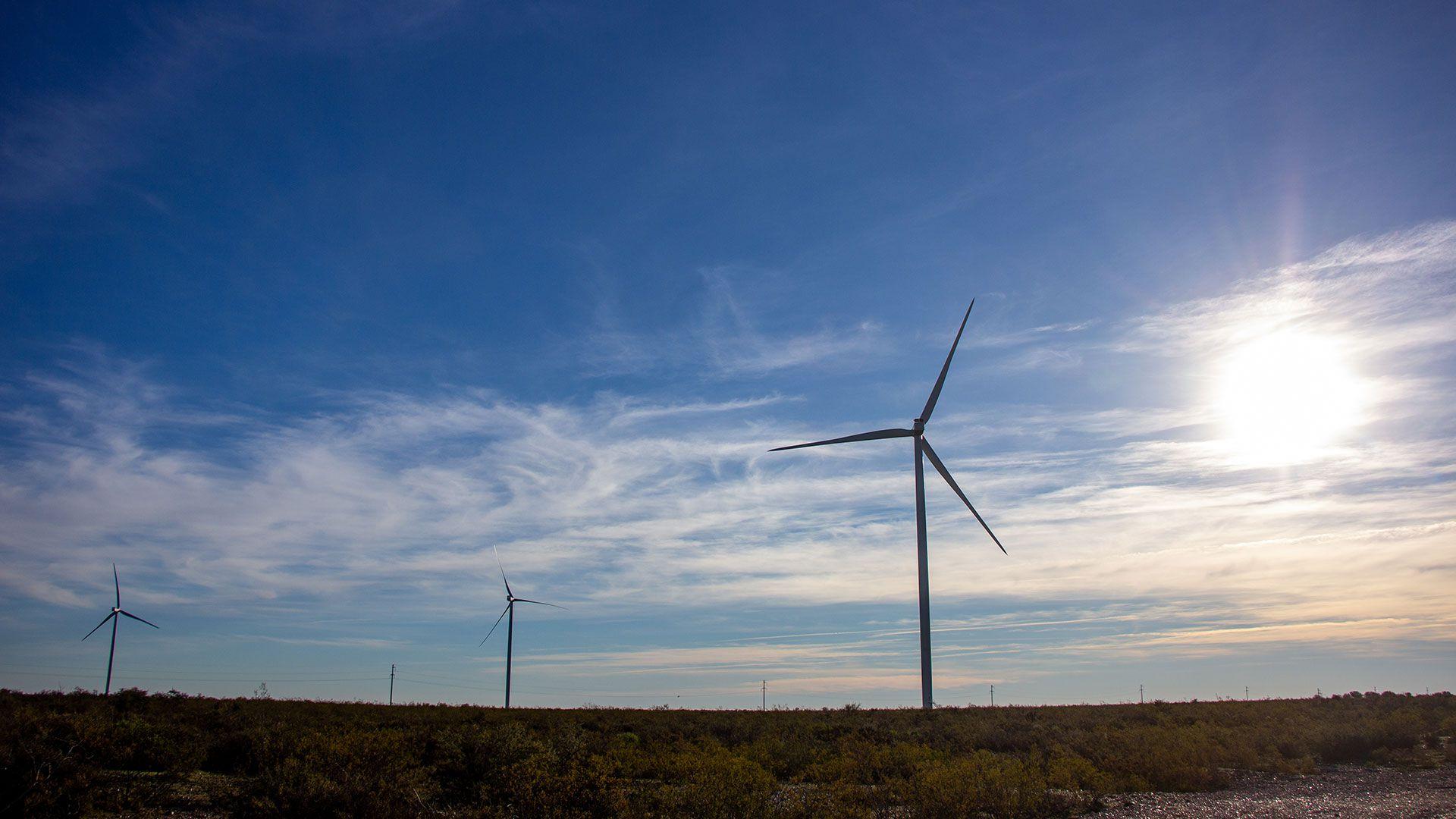El bono se utilizó para financiar un parque eólico en la provincia