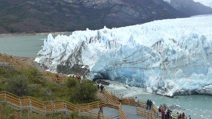 El glaciar Perito Moreno en el Parque Nacional Los Glaciares (Foto: NA)