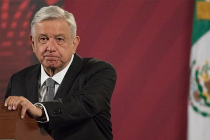 El presidente de México, Andrés Manuel López Obrador, ha causado polémica pues ha decidido no hacer caso a las recomendaciones del uso de cubrebocas (FOTO: VICTORIA VALTIERRA/CUARTOSCURO.COM)