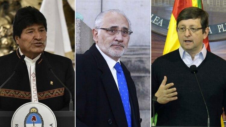 Evo Morales, Carlos Mesa y Oscar Ortíz, los 3 principales candidatos para la presidencia en Bolivia