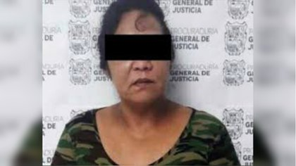 Ana Isabel Treviño reclutaba a otras mujeres (Foto: PGR)