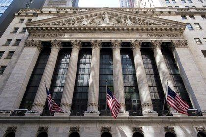 Vista de la Bolsa de Nueva York en Nueva York (EE.UU.). EFE/Justin Lane/Archivo