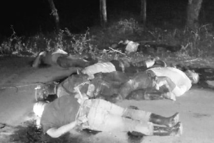 """Una hipótesis señaló que las víctimas fueron """"levantados"""" por un grupo que opera en la zona (Foto: Especial)"""
