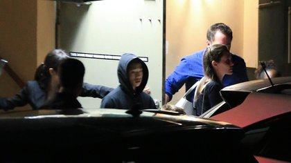 Aquí Angelina Jolie con uno de sus hijos (Grosby Group)