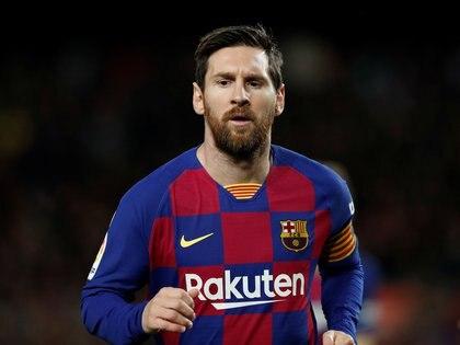 Messi tiene contrato hasta el 1° de enero de 2021 con el Barça  REUTERS/Albert Gea