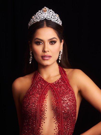 Andrea Meza Miss Universo (Foto: instagram / missuniverse)