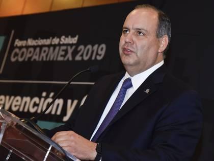 Gustavo de Hoyos presidente de la Coparmex, se ha pronunciado en contra de las respuestas del gobierno federal en aspecto económico ante la pandemia de COVID-19 (Foto: Cuartoscuro)