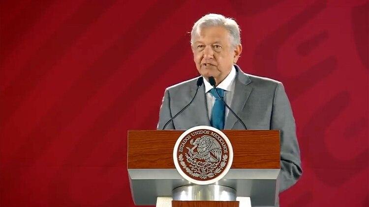 El presidente de México, Andrés Manuel López Obrador, ha defendido un principio de no intervención (Foto: archivo)