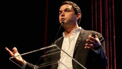 """Piketty es autor del influyente libro """"El capital en el siglo XXI"""" y profesor en la Escuela de Economía de París"""
