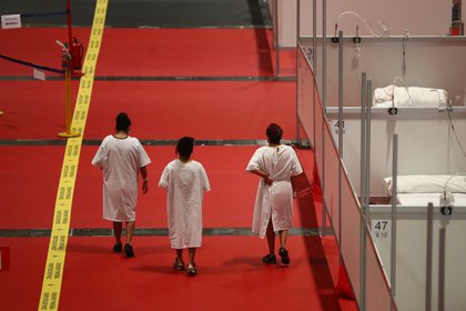 Los pacientes no estaban aislados y podían interactuar entre ellos - REUTERS/Sergio Perez