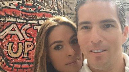 Galilea Montijo y su esposo Fernando Reina (IG: reinaiglesias)