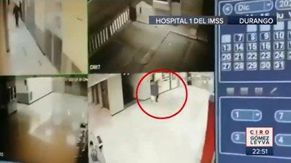 El video que probaría la supuesta participación de la doctora Azucena Calvillo en el homicidio de un magistrado (Foto: Captura de pantalla / Imagen Noticias)