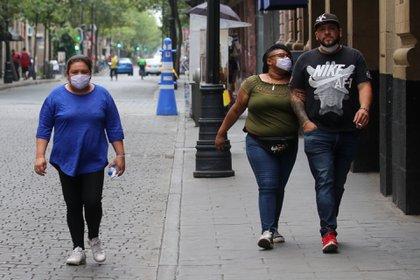 Personas que presentan obesidad son de las más vulnerables para contraer el virus COVID-19.  FOTO: GRACIELA LÓPEZ /CUARTOSCURO.COM
