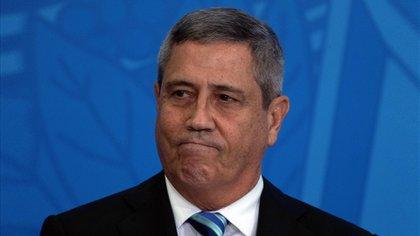 El general Walter Braga Netto, nuevo ministro de Defensa de Brasil. Foto: EFE/Joédson Alves