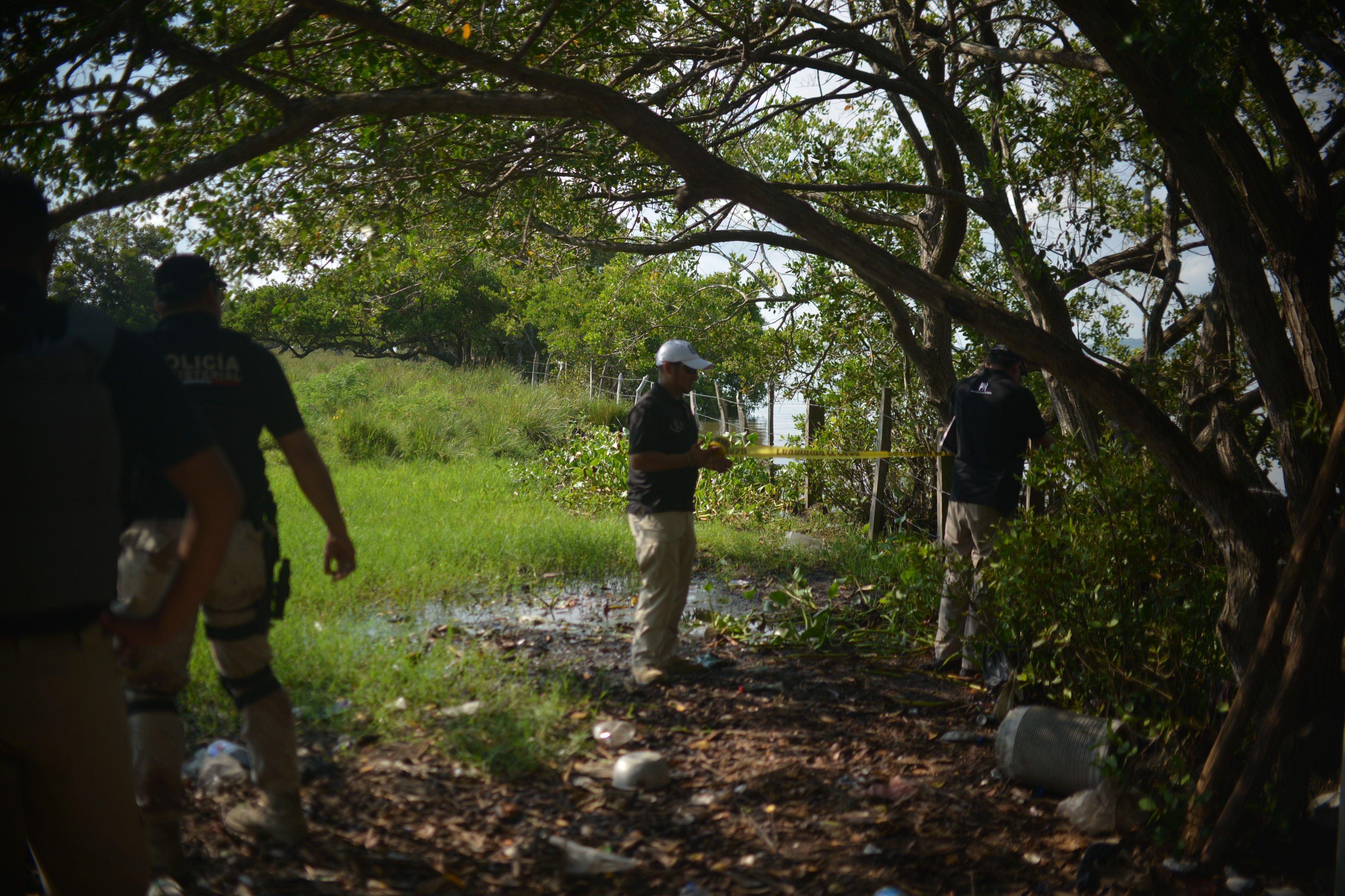 El hallazgo se dio a un costado de la carretera Orizaba Zongolica, en los límites con Los Reyes y a la altura de la Pluma (Foto: Alberto Roa/Cuartoscuro)