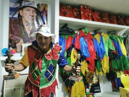 Gastón Polo, director de la Fundación Cultural de Danzas Tradicionales de Sabanalarga.