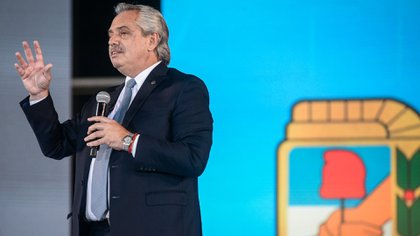 Alberto Fernández llamó a la unidad del PJ y criticó a Mauricio Macri (Presidencia)