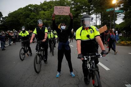 En Boston, Massachusetts, también hubo protestas este 2 de junio de 2020 (REUTERS/Brian Snyder)