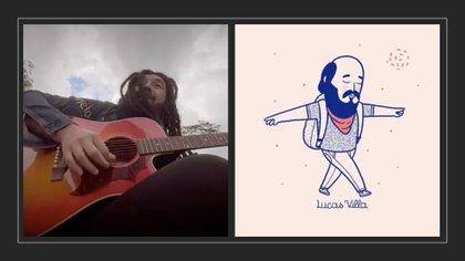 Video: 'Rastacuando' les cantó a Lucas Villa y a los marchantes del Paro Nacional