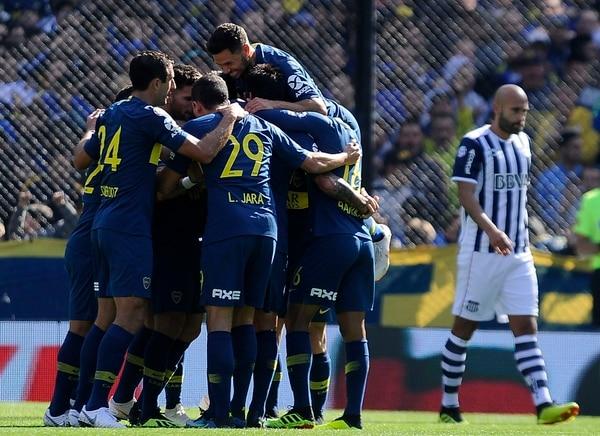 Boca Juniorsvenció a Talleres de Cordoba por la primera fecha de la Superliga 2018/2019