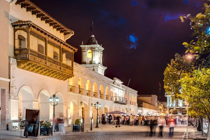 El Cabildo de Salta en la plaza principal (Shutterstock)