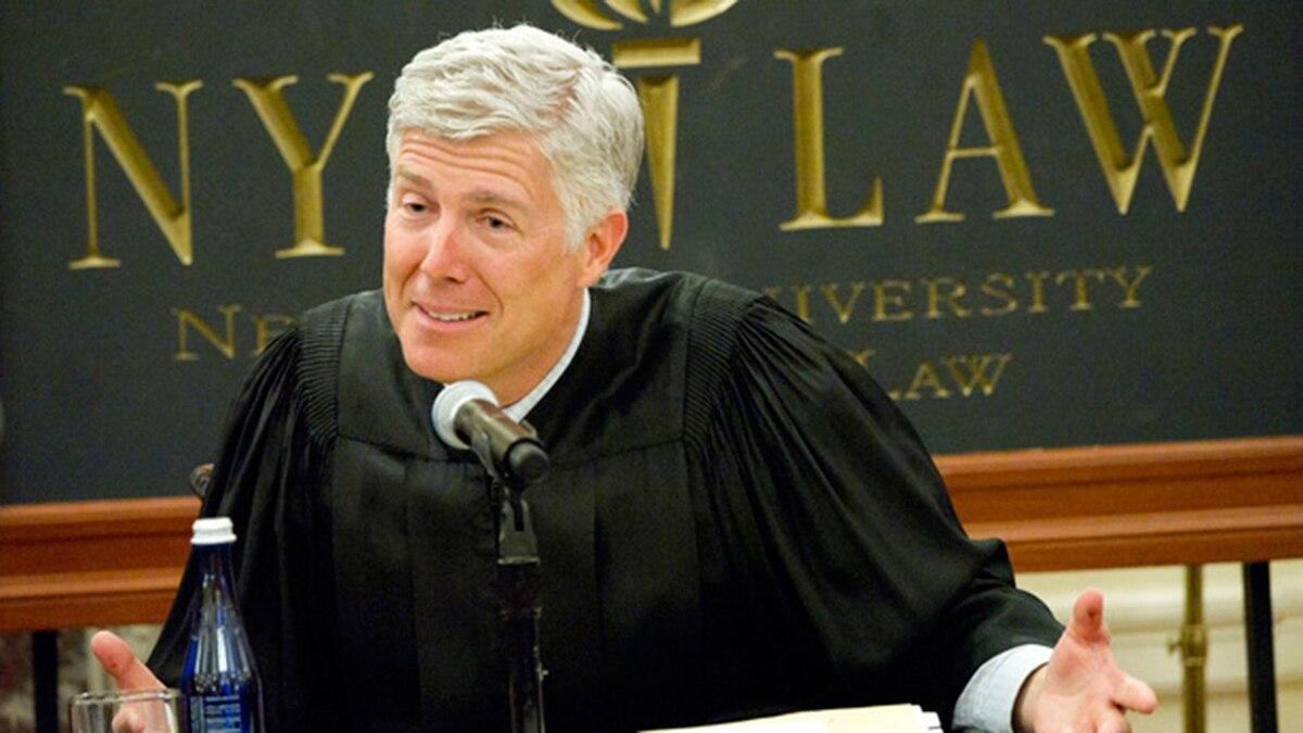 Quién es Neil Gorsuch, el elegido por Donald Trump para integrar la Corte Suprema de los Estados Unidos